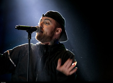 Mac Miller performs at the 20th edition of the Meo Sudoeste Festival, August 2017.