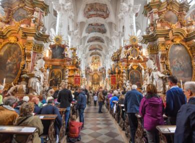File photo. Catholic church in Brandenburg