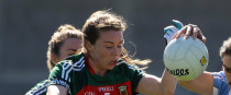 Sarah Tierney in action earlier this year.