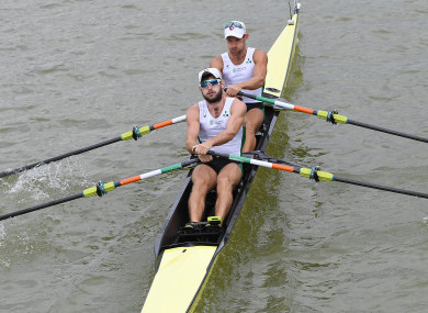 O'Donovans: medal race on Saturday (file photo).