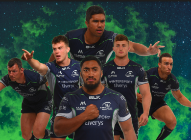 Connacht launched the kit this evening.