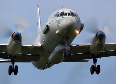 An An Ilyushin Il-20 moeil similar to the surveillance plane shot down.