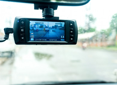 File photo of a dashcam