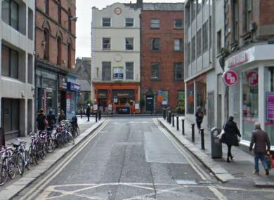 File photo of Trinity Street