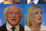 From left to right/top to bottom: Peter Casey, Gavin Duffy, Joan Freeman, Seán Gallagher, Michael D Higgins and Liadh Ní Riada.