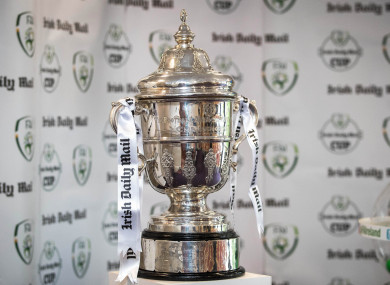 The FAI Cup (file photo).