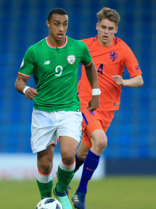 Ireland U19 striker Adam Idah (file pic).