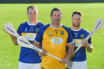 Brendan Cummins (centre) was at the launch of the Amanda Stapleton benefit match yesterday.