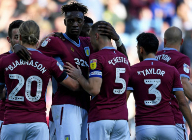 Tammy Abraham's goal saw Aston Villa beat Swansea City 1-0