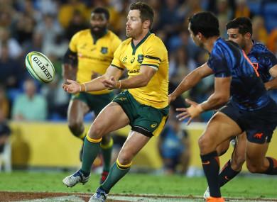 Done deal: Australia fly-half Bernard Foley.