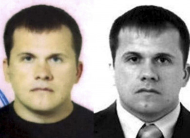 Images issued by Bellingcat of the second suspect in the Sergei and Yulia Skripal poisoning case that the investigative website have named as Dr Alexander Yevgenyevich Mishkin