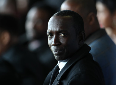 Former Aston Villa and Manchester United striker, Dwight Yorke.