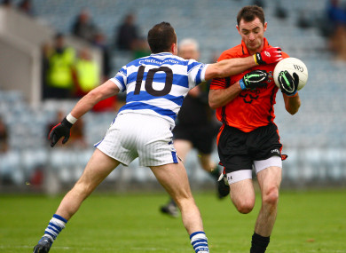 File photo of Duhallow veteran Donnacha O'Connor, who scored 1-3 today.