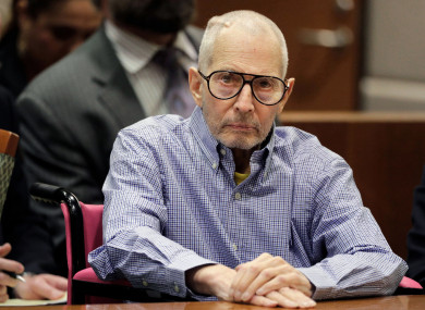 The New York real estate heir was the subject of a television documentary series, The Jinx.
