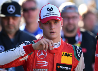 Mick Schumacher (file pic).