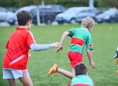 Young players at Clonakilty GAA Club.