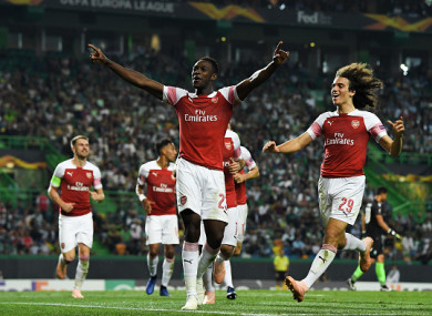 Welbeck was the match-winner for Arsenal in Portugal.