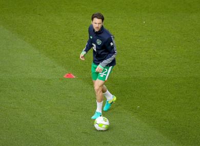 Republic of Ireland midfielder Harry Arter.