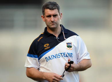 Back in charge: Liam Sheedy.