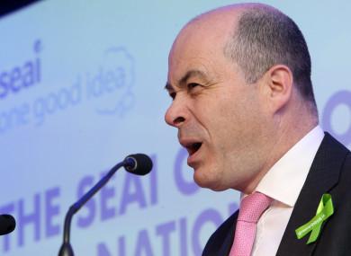 Former Minister for Communications Denis Naughten resigned last week