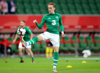 Portsmouth's Ronan Curtis has been included.