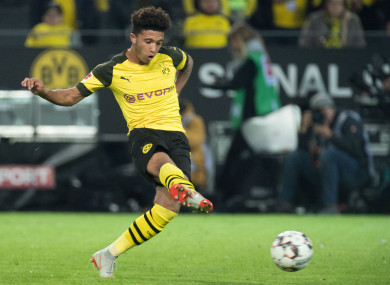 Sancho has looked the real deal for Dortmund.