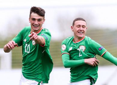Ireland striker Troy Parrott (file pic).