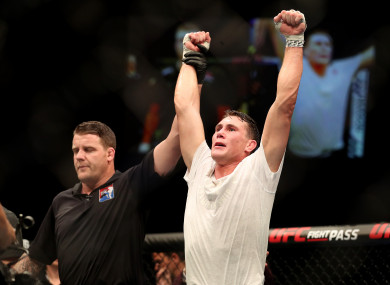 Darren Till following his victory over Stephen Thompson in May of this year.
