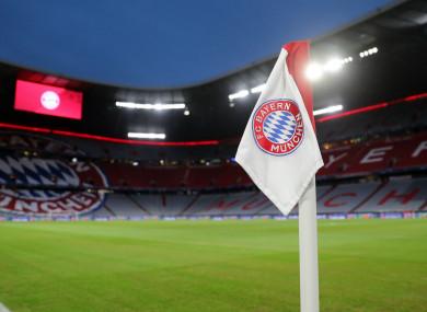 Bayern Munich's Allianz Arena.