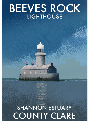 Beeves Rock Lighthouse.