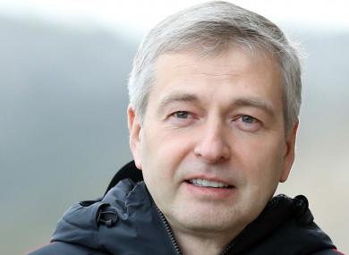 Monaco president Dmitry Rybolovlev (file pic).