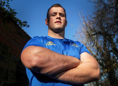 Ed Byrne will be hoping to lead from the front for Leinster this weekend.
