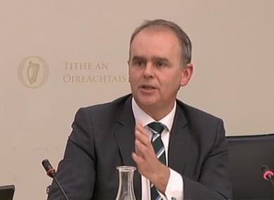 Minister for Education Joe McHugh