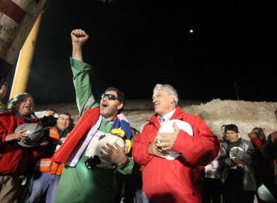 Luis Urza, the last of the miners, is freed.