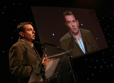 Noel Curran, seen here launching RTÉ's autumn schedule in 2006, will succeed Cathal Goan as the broadcaster's overall head in February.