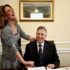 Iris Robinson officially announced her resignation from elective office in Northern Ireland in January this year after revelations that she had had an affair with a 19-year-old man, and allegations of financial impropriety. Her husband, First Minister Peter Robinson, temporarily stood down from his post in the wake of the scandal but retook his role in February.
