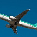 A jet takes off from Dublin airport this week as the Aer Lingus row over new rosters escalated and some staff voted for strike action.