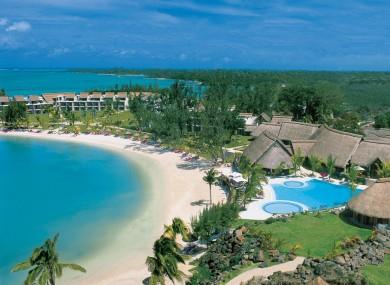 The Legends hotel complex, Grand Graube, Mauritius where Michaela Harte was murdered.