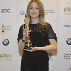 Saoirse Ronan, who won Best Supporting Actress (Film) for The Way Back. Photo by KOBPIX.