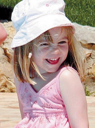 The last photo taken of Madeleine in Portugal before her disappearance in 2007.