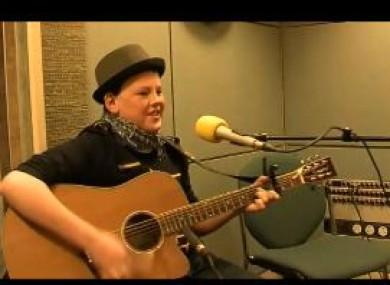 Mark Boylan performing his song on The John Murray show.