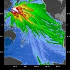 This image provided by the Pacific Tsunami Warning Center shows a