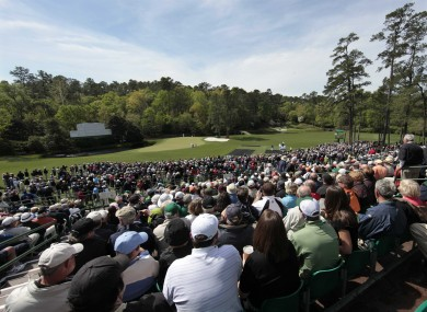 Spectators flock to the US Masters at Augusta National annually.