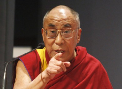 Dalai Lama goes live in Ireland · TheJournal ie