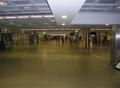Officials detected a package of cocaine passing through Dublin Airport.