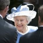 Queen Elizabeth ll visits the Irish National Stud at Kildare. (Pic: Mark Cuthbert/UK Press/Press Association Images)
