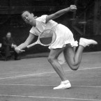 Former player Gertrude Moran was known by the nickname