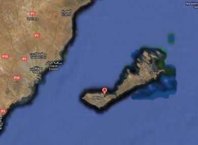 Kerkannah is an island off the Tunisian coast in the Mediterranean.