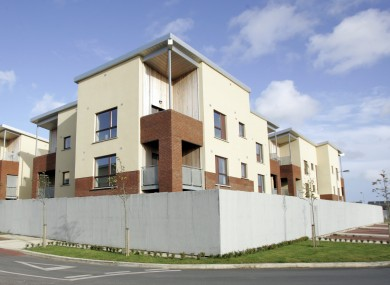 Unsold apartments in Dublin in 2008