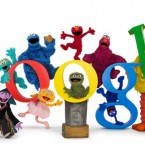This doodle marked the 40th anniversary of Sesame Street